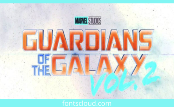 Guardians Of The Galaxy Font Free Download [Direct Link]